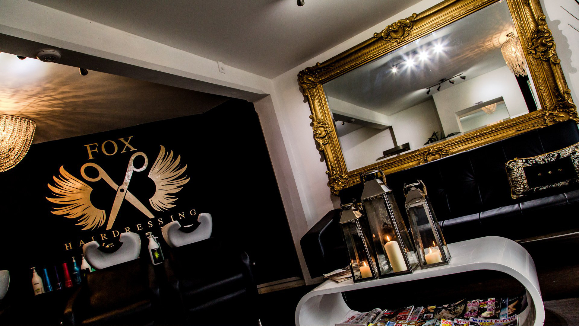 Fox Hairdressing - Hair wash and waiting